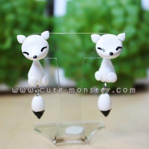 Cutie white fox