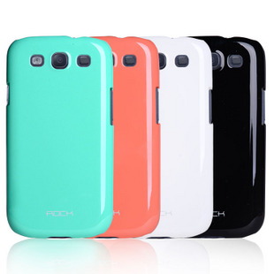 Case ROCK nakedshell Naked Color-ful series for Samsung Galaxy S3