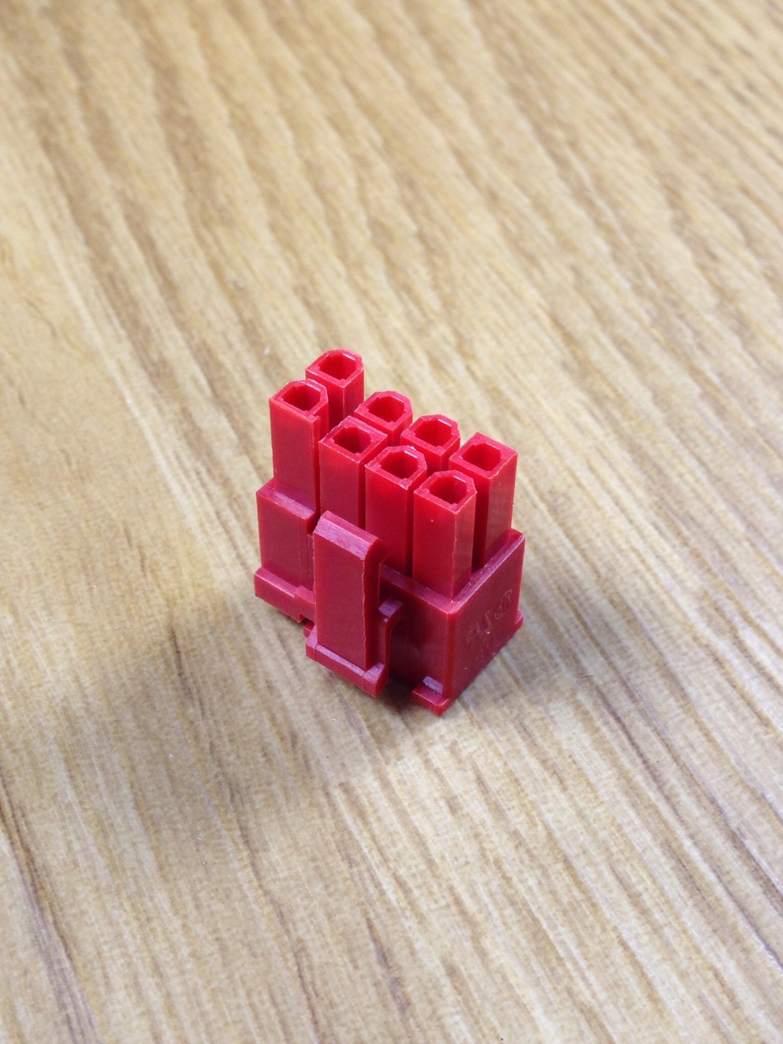 Connector 6+2 Pin VGA สีแดง