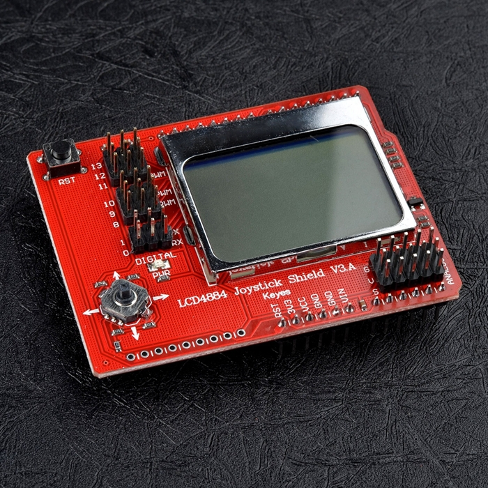 LCD4884 Joystick Shield V3