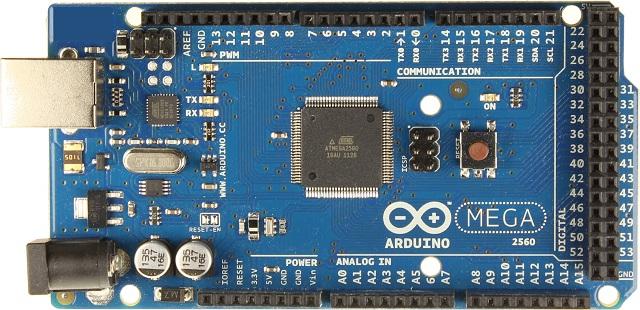 Arduino MEGA 2560 R3 (PCB Gold Plating) แถมสาย USB