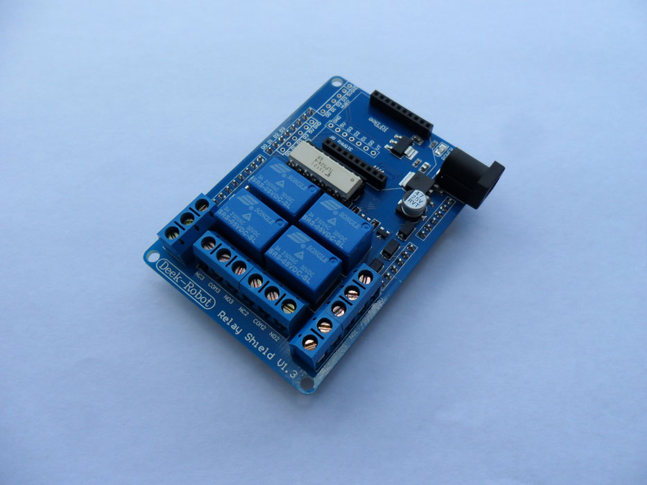 4 Channel Relay Shield with XBee Interface