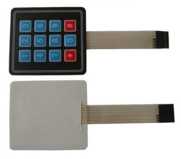 4x3 matrix keypad