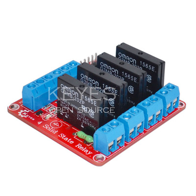 4 Channel Solid State Relay (2A) Module