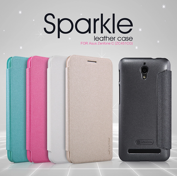 เคส มือถือ Asus Zenfone C Sparkle Leather case NILLKIN แท้ !!