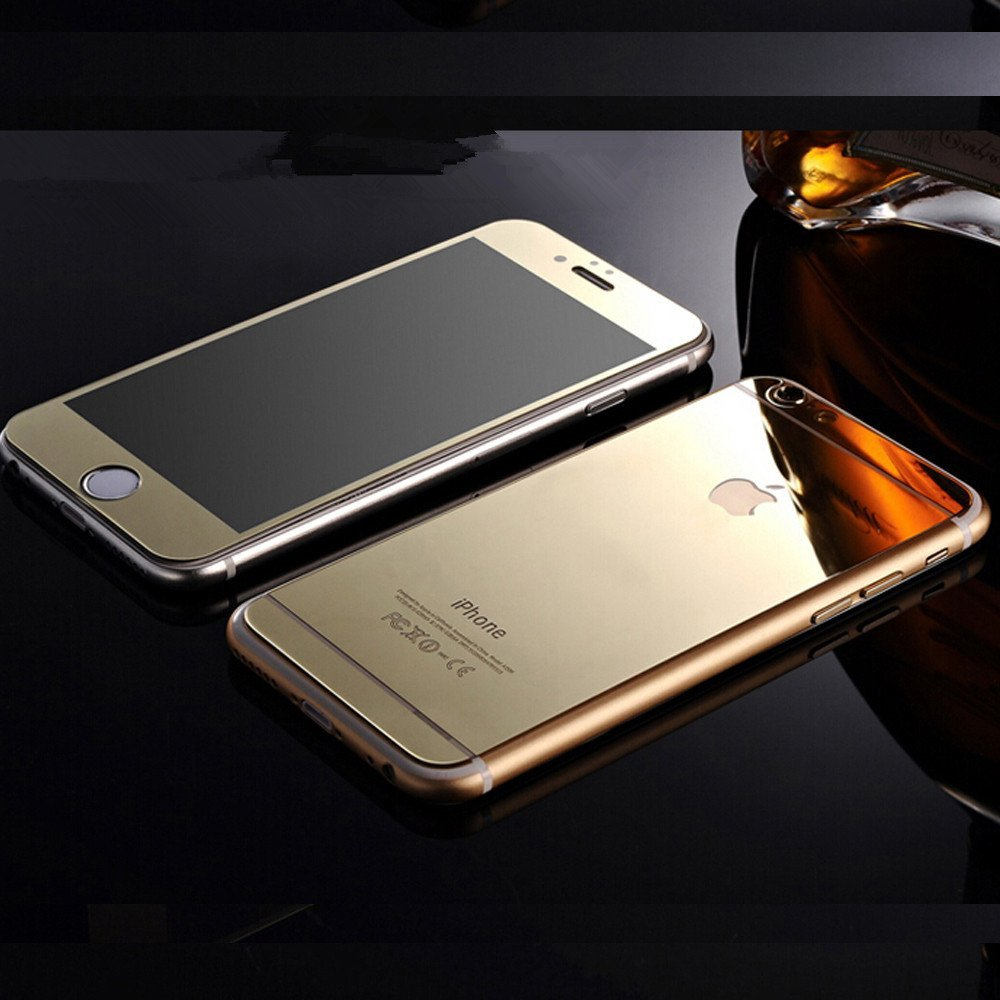 - ฟิล์มกระจกนิรภัย For Apple iPhone 6 4.7 นิ้ว หน้าหลัง