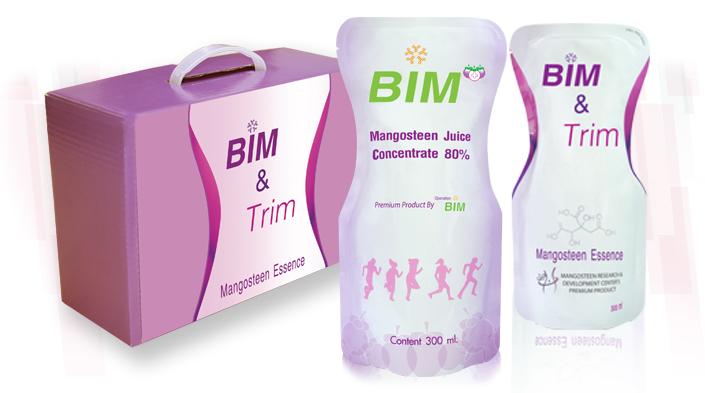 BIM น้ำมังคุดสกัด บิม 10 ซอง