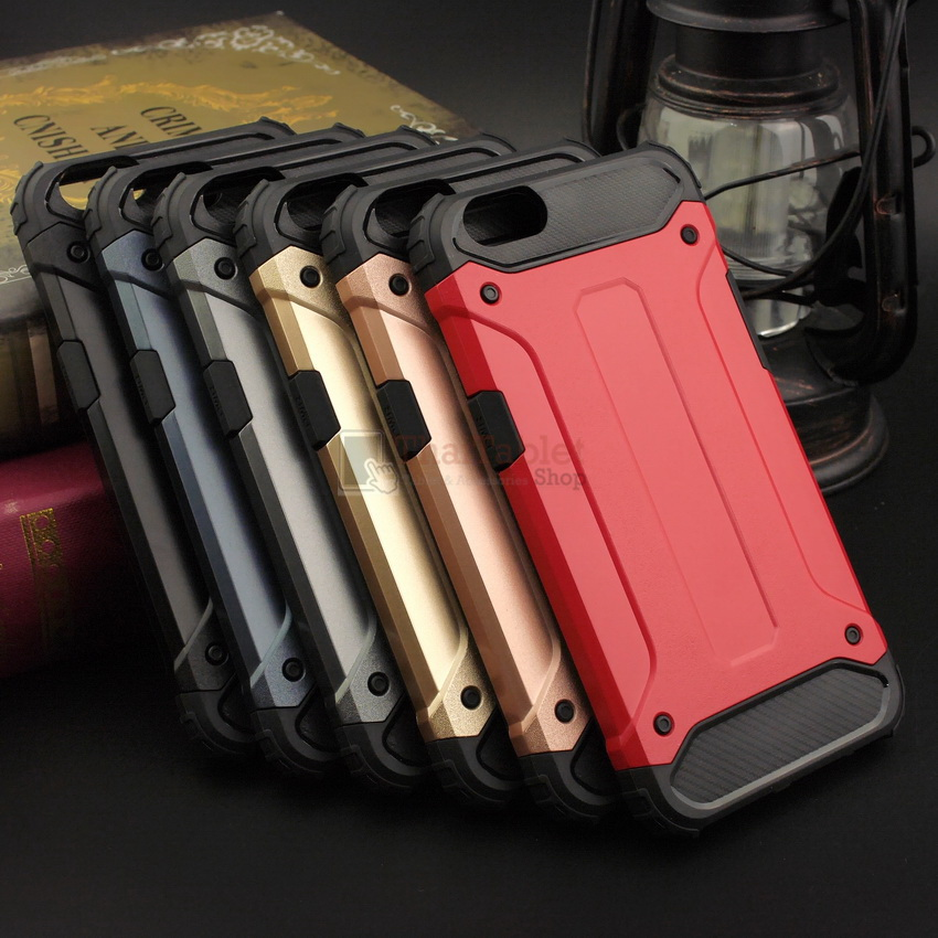 Rugged Hybrid Dual Layer Armor Case Cover For OPPO A39