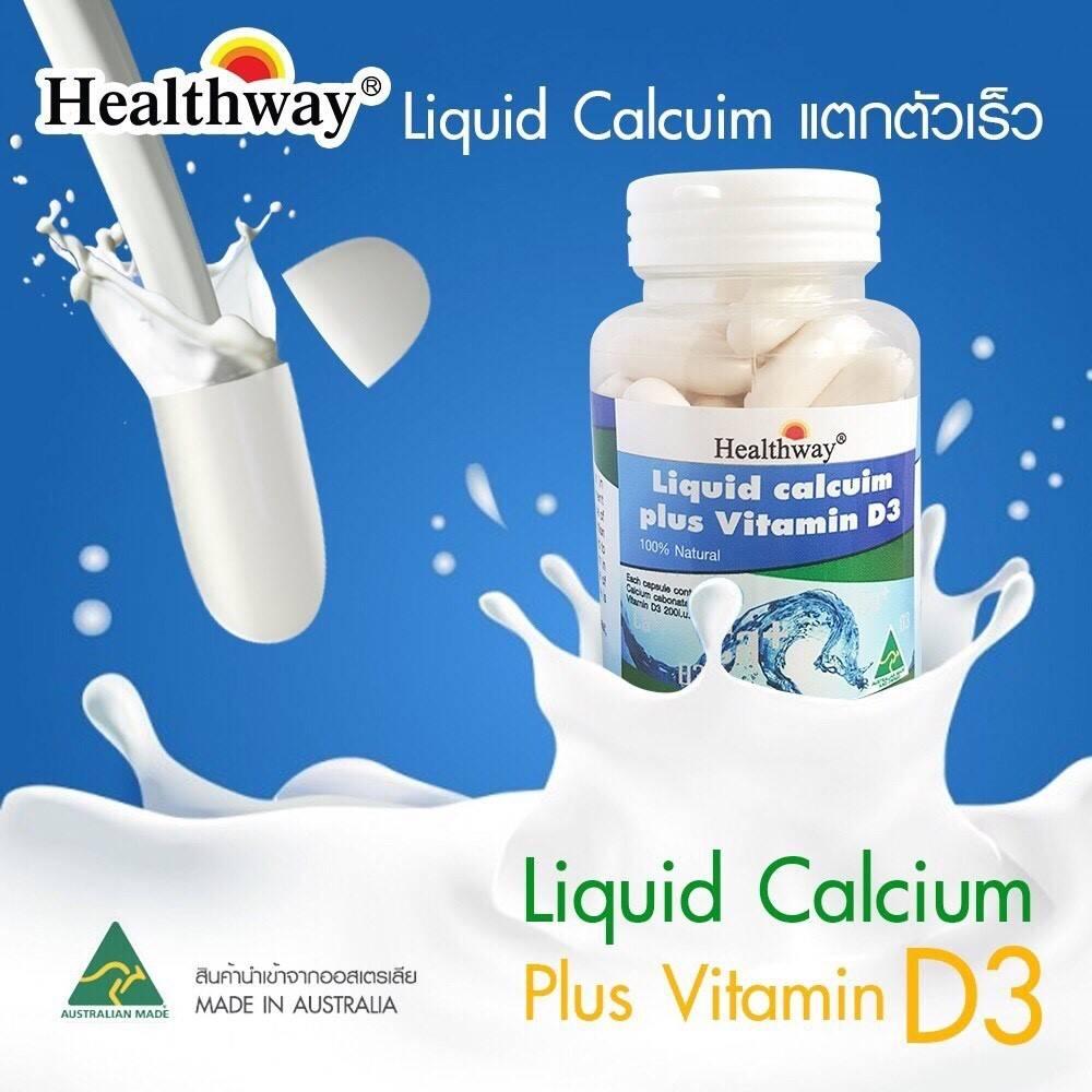 Healthway Liquid Calcuim