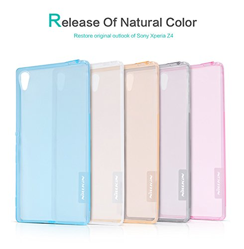 Nillkin Nature 0.6mm Transparent TPU Cover For Sony Xperia Z3