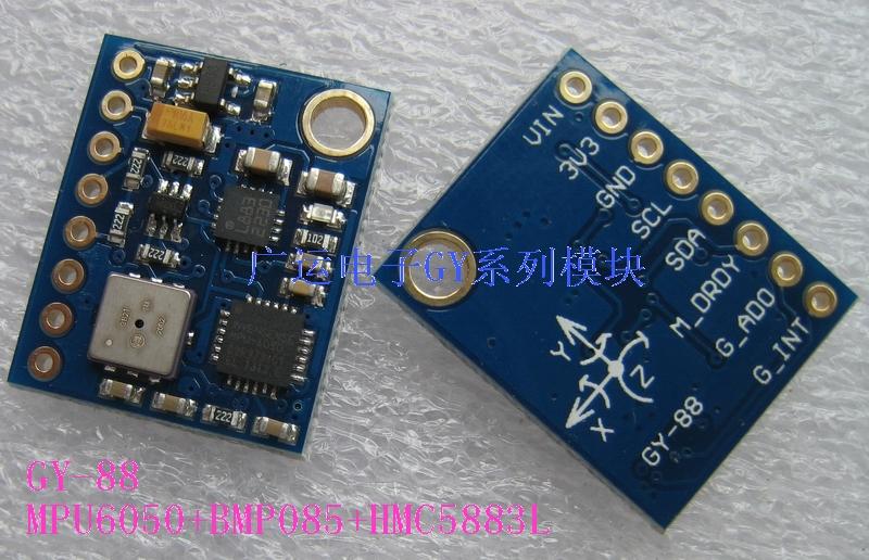 GY-88 IMU/10DOF (MPU6050 HMC5883L BMP085)