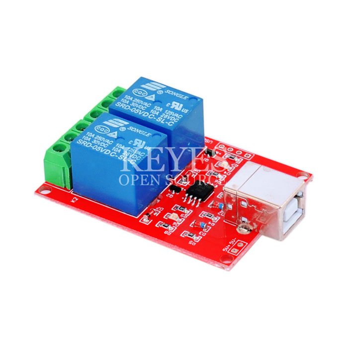 USB Relay 2 Channel