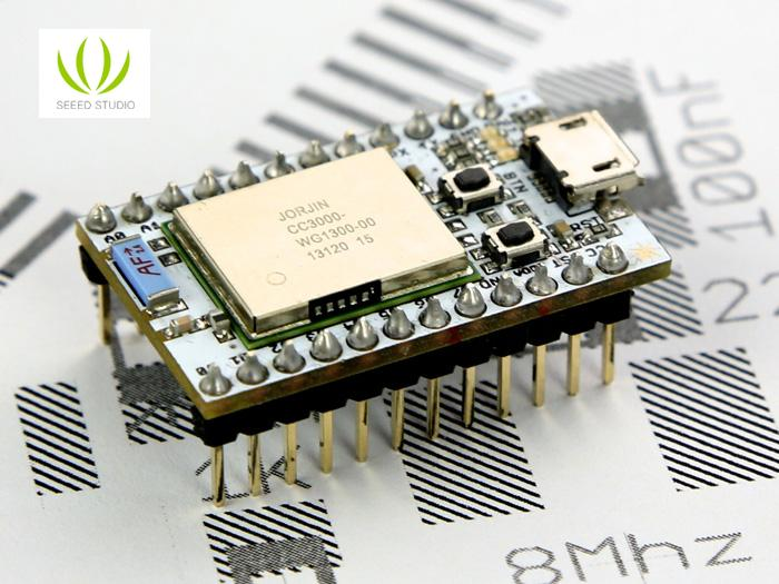 Spark Core (Arduino compatible WiFi enabled board)