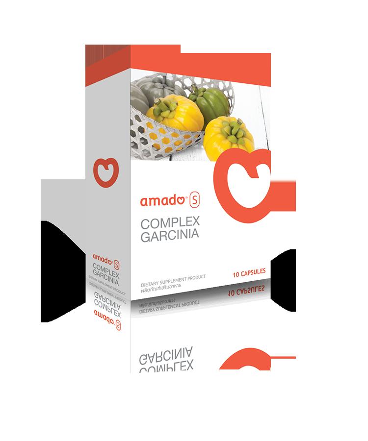 อมาโด้ เอส Amado S อาหารเสริมลดน้ำหนัก กล่องส้ม