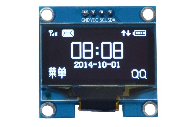 OLED 128x64 ขนาด 1.3 นิ้ว I2C interface (SSH1106)