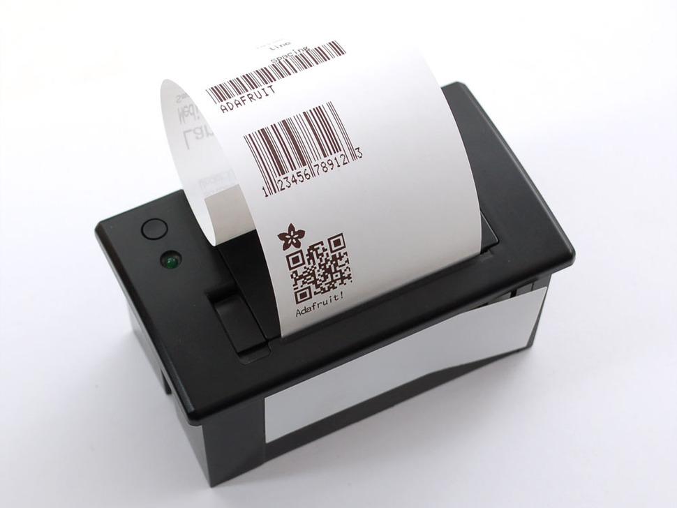 Mini Thermal Printer (แถมกระดาษ 1 ม้วน)
