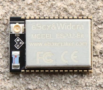 ESP32-Bit + ESP32-T by eBox maker