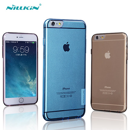 Nillkin Nature Slim Clear TPU Case Cover for Apple iPhone 6 4.7""