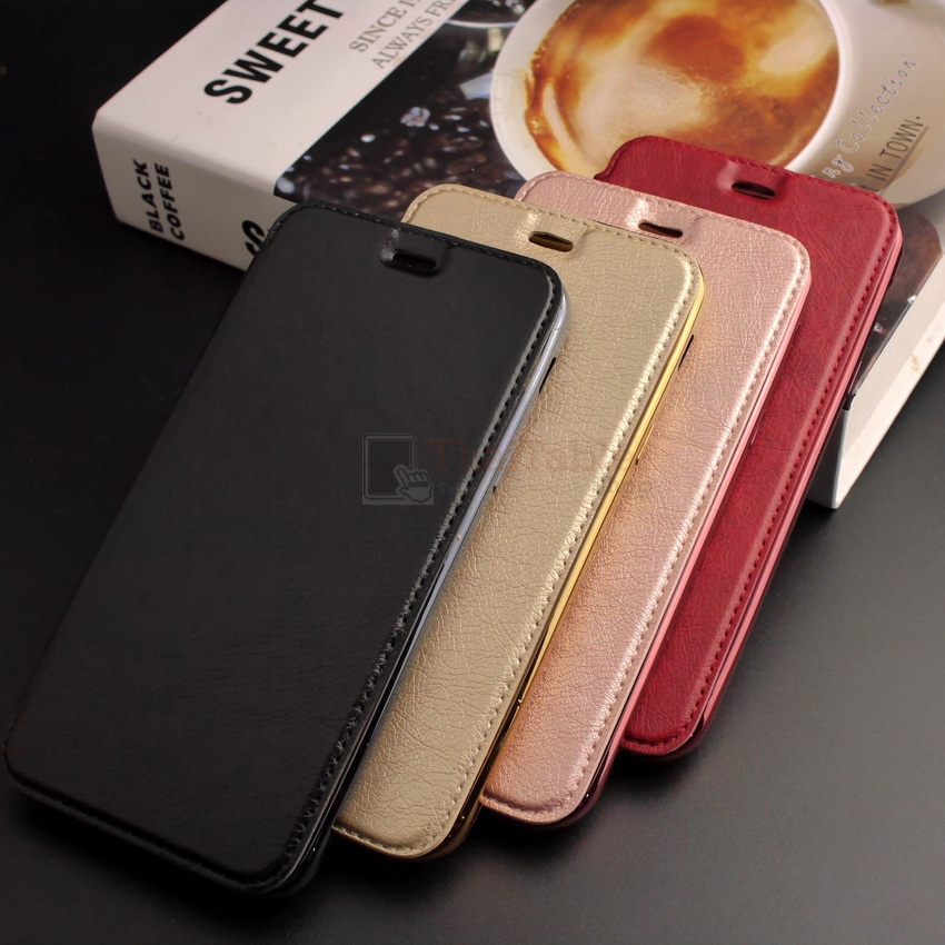 Luxury Leather Case For Vivo V5 Plus