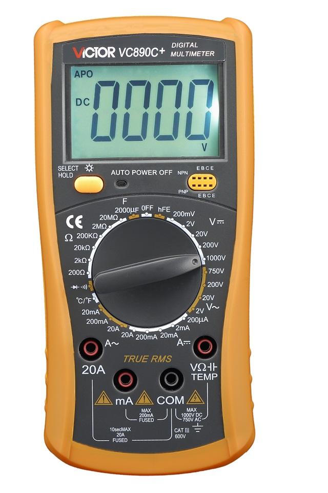VICTOR VC890C+ Digital Multimeter True RMS