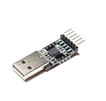 USB to UART (CP2102) with DTR pinout