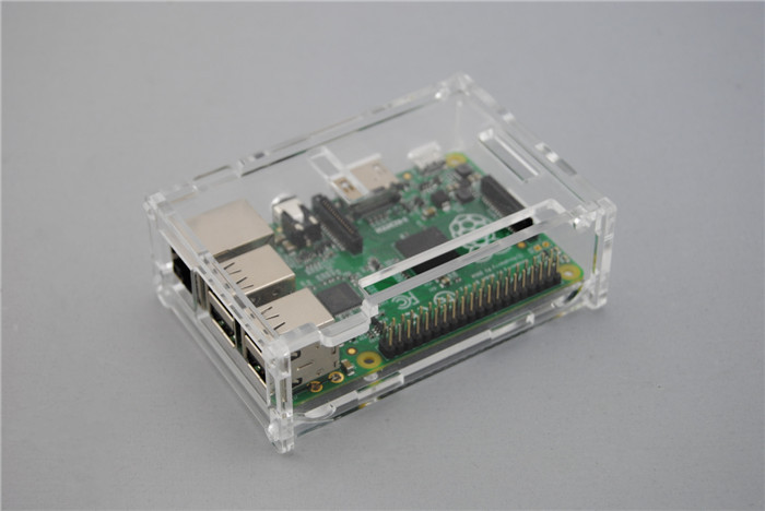 อะครีลิค Box for Raspberry Pi model B+ / Pi 2 / Pi 3