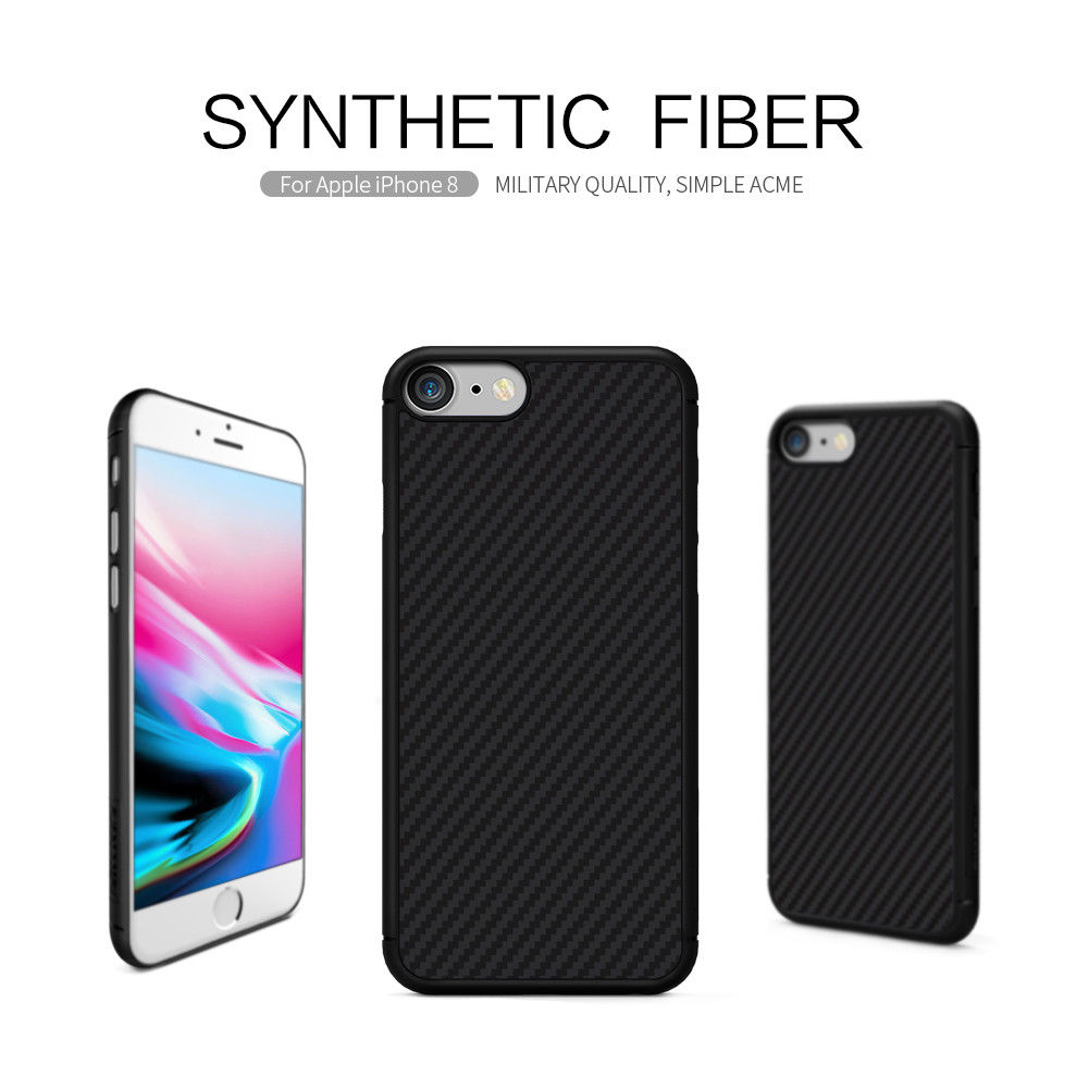 Case NILLKIN Synthetic fiber For Apple iPhone 8