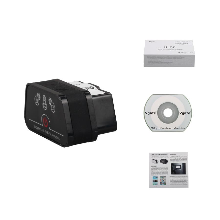 Vgate iCAR2 ELM327 OBD2 Bluetooth (คละสี)