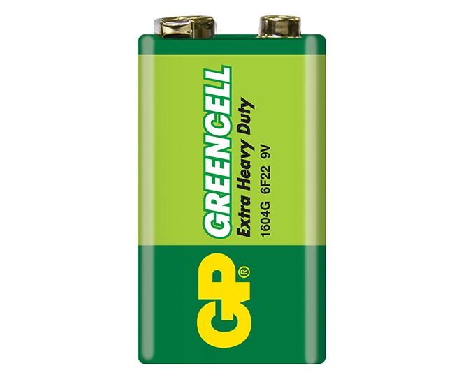 GP Battery 9V + DC Jack