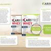 Karipro whey เวย์โปรตีน และ KARINOL BC แคปซูลเร่งการเผาผลาญ