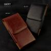 - HAPPY กระเป๋าหนังคาดเอว เคส ซอง ไซด์ XL แนวตั้ง สำหรับ Samsung Galaxy S8