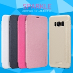 NILLKIN เคส Samsung Galaxy S8 Plus รุ่น Sparkle Leather Case แท้ !!