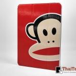 เคส Apple iPad Air 2 ลาย Paul Frank สีแดง หลังใส