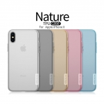 Nillkin Nature Slim Clear TPU Case Cover for iPhone X (iphone 10)