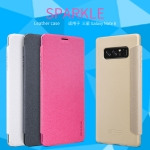 NILLKIN เคส Samsung Galaxy Note 8 รุ่น Sparkle Leather Case แท้ !!