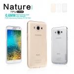 Nillkin Nature Slim Clear TPU Case Cover for Samsung Galaxy E7