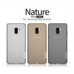 Nillkin Nature Slim Clear TPU Cover เคส Samsung Galaxy A8 2018