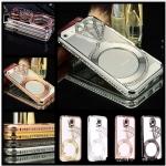 Luxury Metal Crystal Rhinestone Diamond Bumper Case Cover For Samsung Galaxy NOTE2