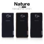Nillkin Nature Slim Clear TPU Case Cover for Samsung Galaxy A7 (2016)