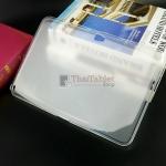 TPU ครอบหลัง เคส Samsung Galaxy Note 10.1 N8000 แบบใสหลังทราย