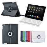 360° Rotating PU Leather Case for Apple iPad 2/3/4