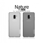 Nillkin Nature Slim Clear TPU Cover เคส Samsung Galaxy A8 Plus 2018