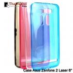 """TPU ครอบหลัง Asus ZenFone 2 Laser 6"""" ZE601KL"""