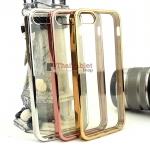 TPU ครอบหลัง ขอบสีไฮโซ iPhone 5 /5s /5 se