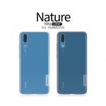 Nillkin Nature Slim Clear TPU Case Cover for Huawei P20