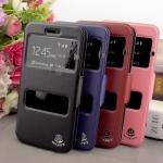 เคส Dtac Phone M2 รุ่น 2 ช่อง รูดรับสาย หนังเกรด A