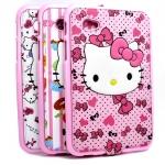 """เคสครอบหลัง Hello Kitty For Samsung Galaxy Tab 2 7"""" P3100 พร้อมสายสะพาย"""