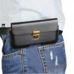 - ฺBusiness Pocket ซองหนังคาดเอวขนาด แนวนอน มือถือ 6 - 6.3 นิ้ว