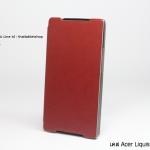 เคส Acer Liquid Z5 รุ่นหนังมัน
