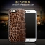 OATSBASF Luxury [Genuine Leather] Crocodile Patterm Case Cover for iPhone 7 thumbnail 6